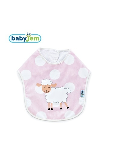 Baby Jem Mama Önlüğü Pembe